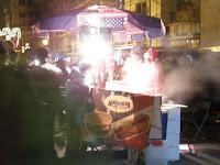 Vörösmarty tér, V. kerület, vásár, Újév, Budapest, Szilveszter, 2008, 2009, újév, Budapest, Magyarország, Hungary, fair, vendéglátás
