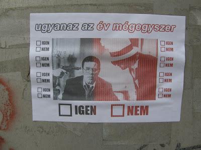 plakát,  üllői út, IX. kerület,  vicces,  Budapest,  Magyarország,  mókás, akasztófahumo