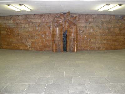 Kálvin tér, subway, U-bahn, metró, metróállomás, aluljáró, belváros, Budapest, Magyarország, Hungary, photo, kép, pictures, statue, Illés Gyula 1983