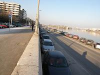 Budapest, Batthyány tér, Budai Alsó rakpart, parkolás, közlekedés