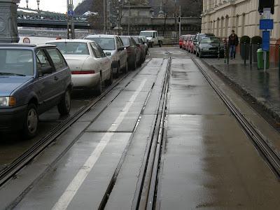 parkolás, parkoló, Bem rakpart, Budapest, Lánchíd, Széchenyi híd