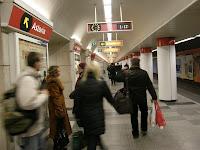 2 metró, piros vonal, Astoria, belváros, metró, piros, Budapest, V. kerület, subway, U-bahn, underground, VII. kerület, VIII. kerület
