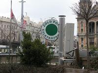 odék, bódésor, Nyugati tér, Terézváros, Verók István, VI. kerület, Zöld Pont, üzletközpont