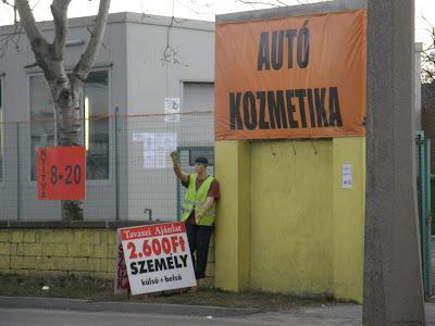 autoszerviz, autómosó, Budapest, Kőbánya, reklám, reklámozási technikák, szerelő, szerviz, Vaspálya utca, X. kerület