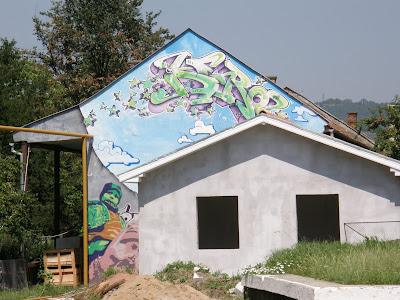 Cluj, festékszóró, graffiti, kanna, Kolozsvár, minőségi, street art, tehetséges