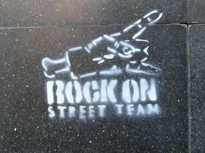 street art, Kolozsvár, stencil,  rock, gang, Cluj, Belváros, Romania, Rock on street team