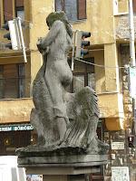 Budapest, denkmal, Hattyú, Hungary, I. kerület, Kilus kút, Léda, Magyarország, Melocco Miklós, mitológia, statue, szobor