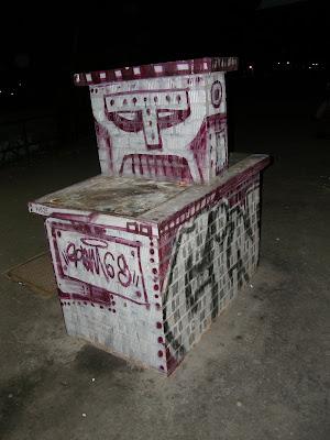graffiti,  Újpest, vasúti megálló, Összekötő híd, street art