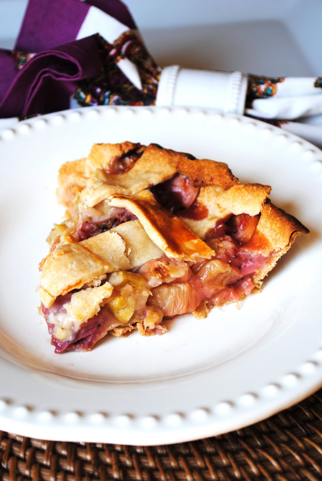 Strawberry Rhubarb Pie - How To: Simplify