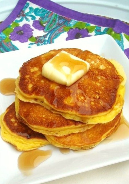 Edna Mae's Sour Cream Pancakes (The Pioneer Woman) - How To: Simplify
