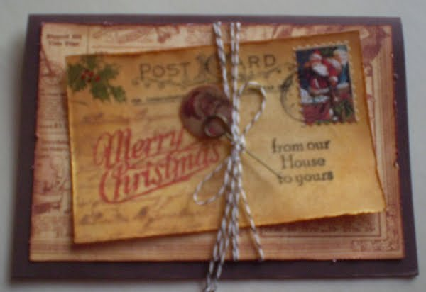 Tim Holtz Christmas Stamps