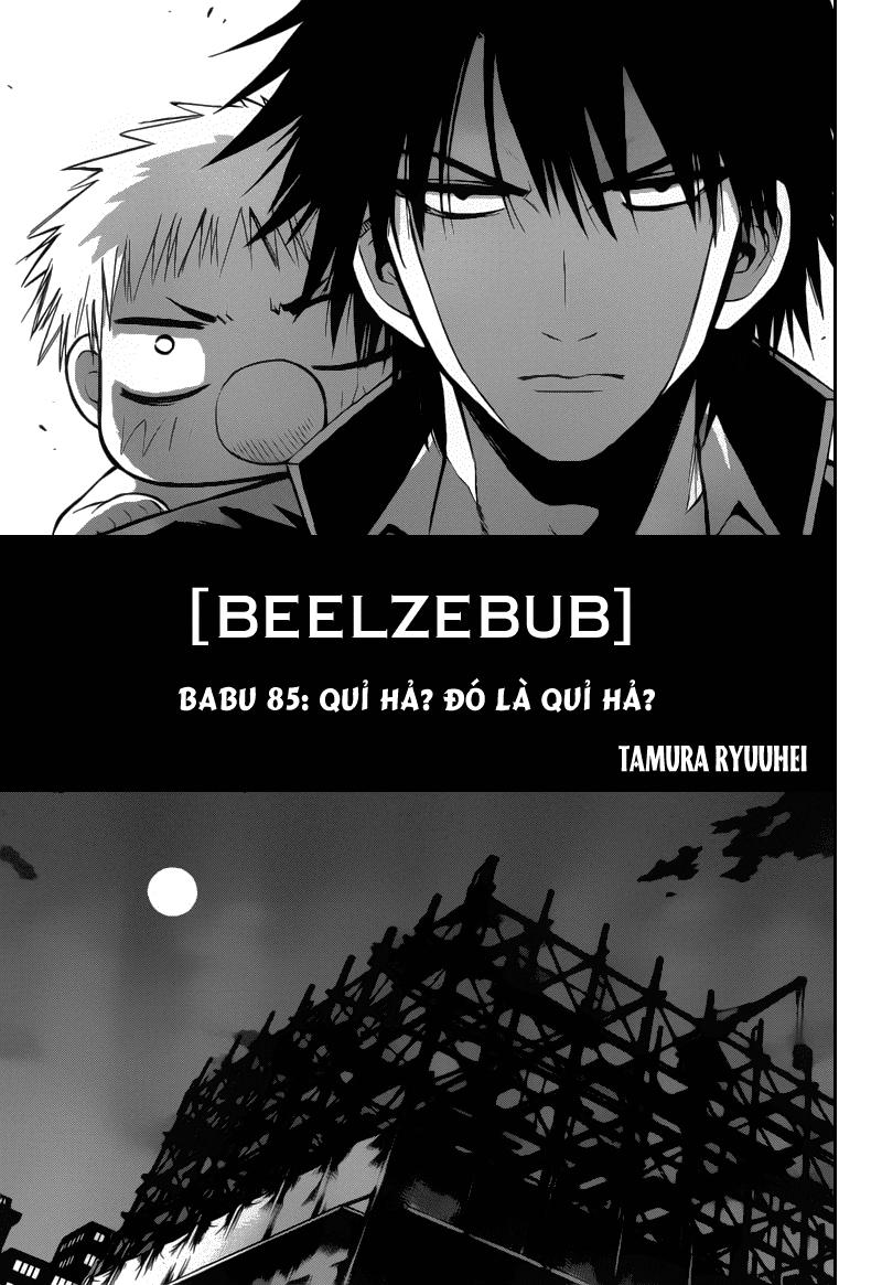 Vua Quỷ - Beelzebub tap 85 - 5