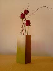 Florero de Bambú.