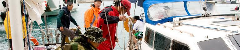 橫渡太平洋的航海日誌