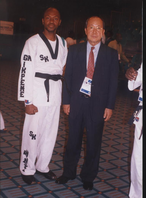 Picture from 8th All Africa Games (COJA), Abuja 2003 Taekwondo competition venue