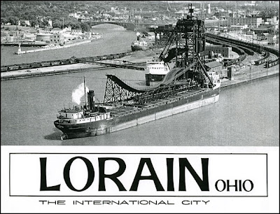 spend a lot of time in the Lorain Public Library doing research, and ...