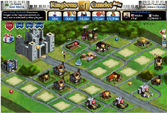 watercooler describe su juego kingdom of camelot como el juego