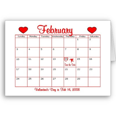 What date is valentine's day