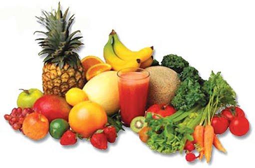 Frutas y verduras (Fuente Internet)