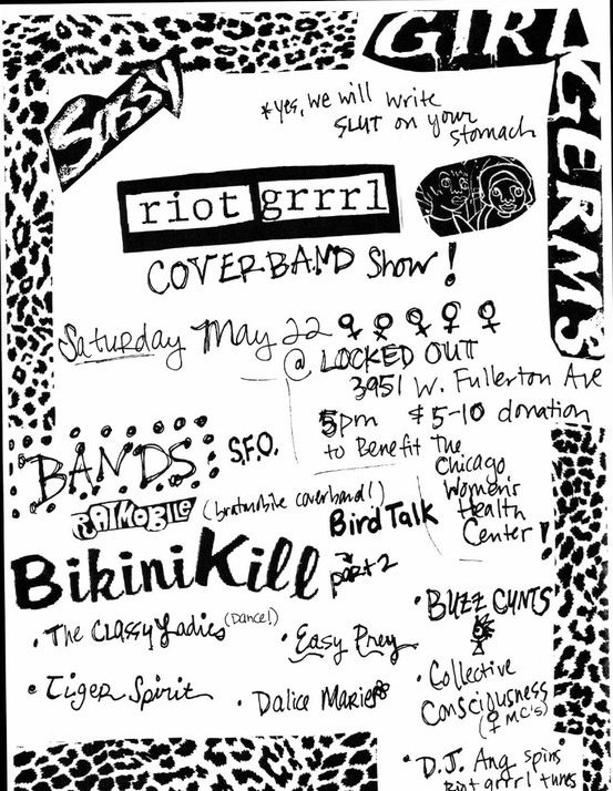The show promises to offer all our favorite Bikini Kill, Sleater Kinney, ...