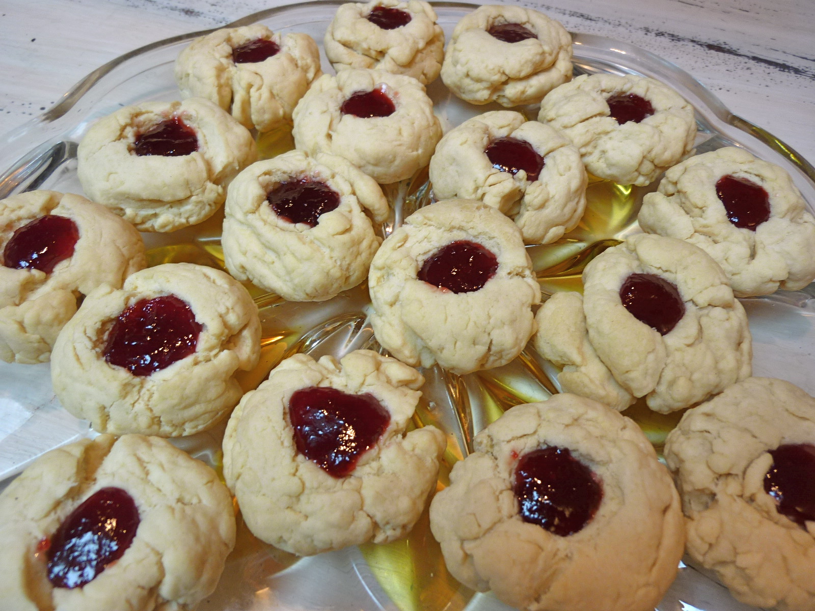 ... of a Mad Hausfrau: Thumbprint Cookies with Fine's Sour Cherry Jam