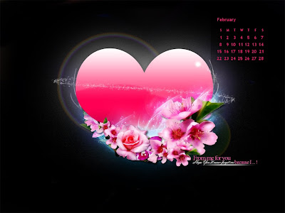 February 2009: 10 Beautiful Desktop Wallpaper Calendars