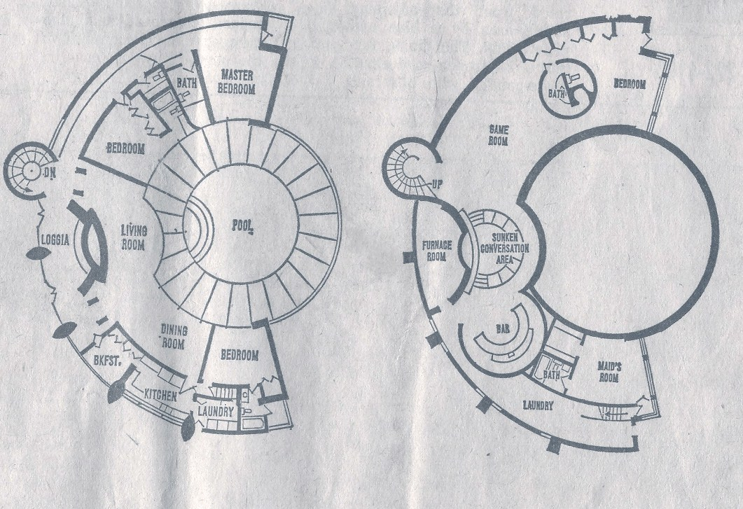 Circular House Plans with Stairs