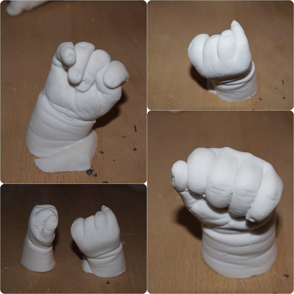 aftryk af baby hænder og fødder
