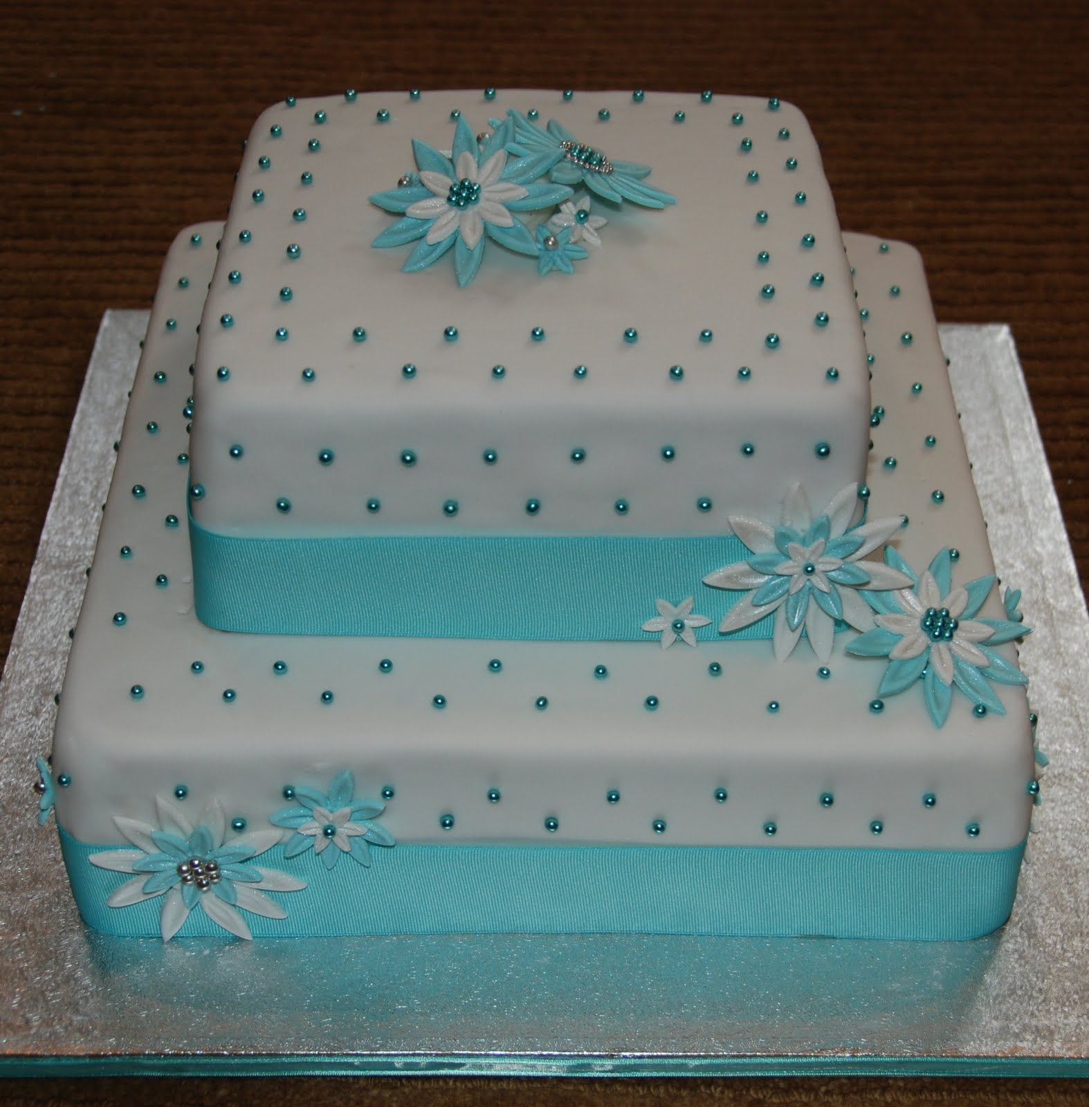 Tiffany Blue Birthday Cake | Rachael Edwards