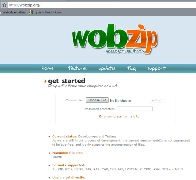 WobZip.Org Home - My Search History