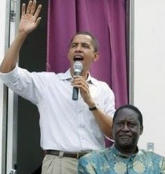 Obama and Odinga Campaign in Kenya