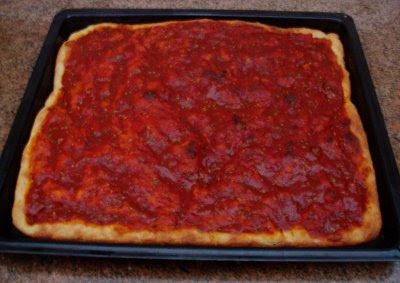 Recetas de Cocina: PIZZA DE LEVADURA