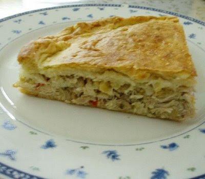 Recetas de Cocina: TORTA DE POLLO