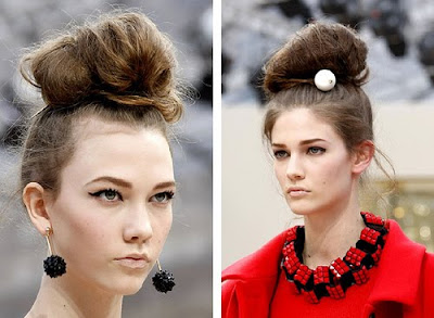 Top Knots Hairstyles