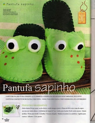Manualidades pantuflas para hacer