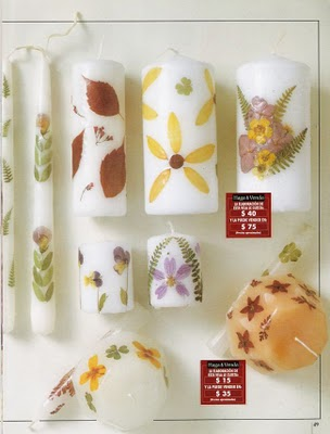 Flores secas para decoraci n de velas lodijoella - Flores secas decoracion ...