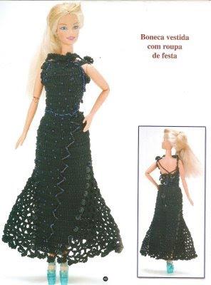 Vestidos tejidos para muñecas ~ lodijoella