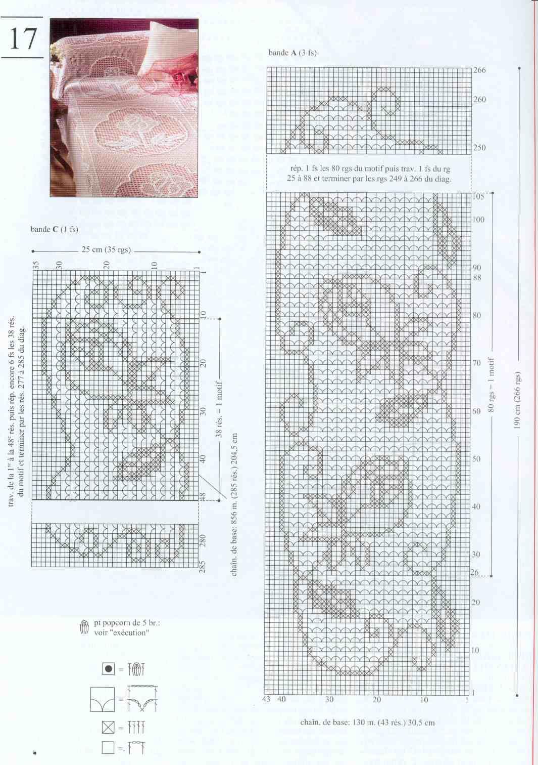 Patrones De Colchas En Crochet