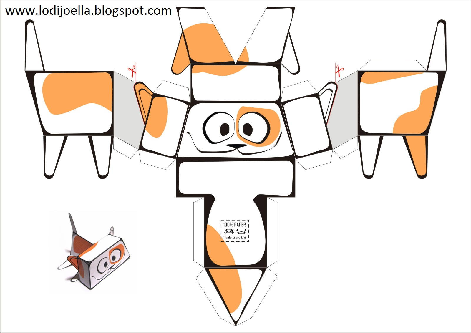 Mu ecos de papel para armar lodijoella for Sillas para armar y recortar