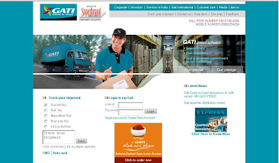 Gati Tracking - Track Gati Courier Online at www.gati.com