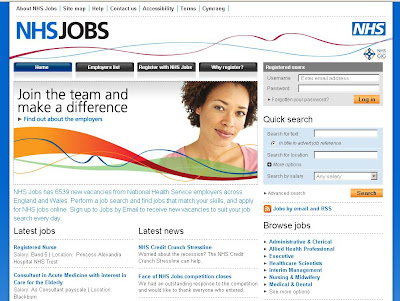 NHS Jobs - Login to www.jobs.nhs.uk for Job Search