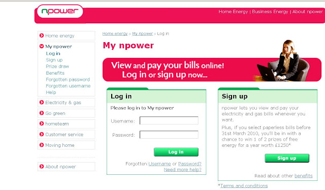 Www.nPower.com Login - My NPower -  View &amp; Pay Electricity &amp; Gas Bills Online
