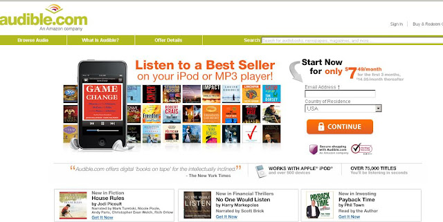 How to Login to Audible.com MyAccount & Download Digital AudioBooks ?