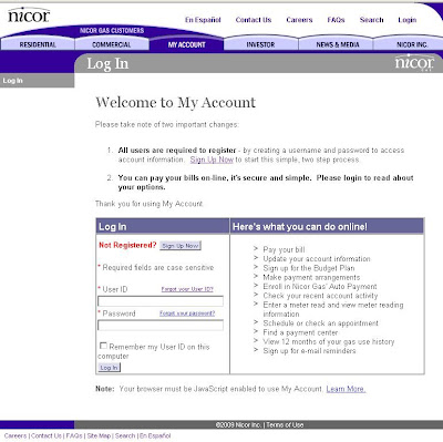 www.Nicor.com/MyAccount - Nicor Gas Payment - Bill Pay
