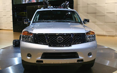 2011 Nissan Armada Redesign: Pics of Changes in Model