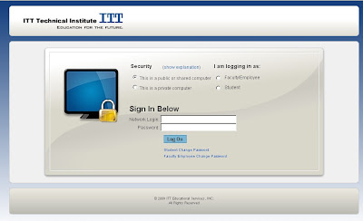 Student Portal itt Tech Login Guide
