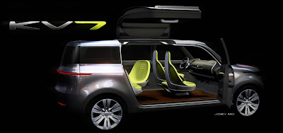 KIA KV7 Concept will be unveiled at Detroit 2011