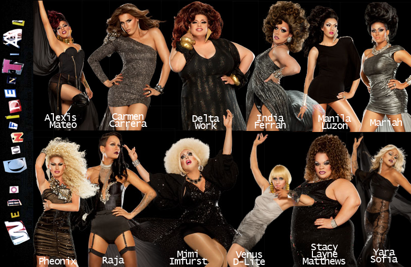 RuPaul's Drag Race Season 3 cast revealed
