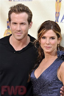 Sandra Bullock Ryan Reynolds Movie on Ryan Reynolds And Sandra Bullock Arrive At The 2009 Mtv Movie