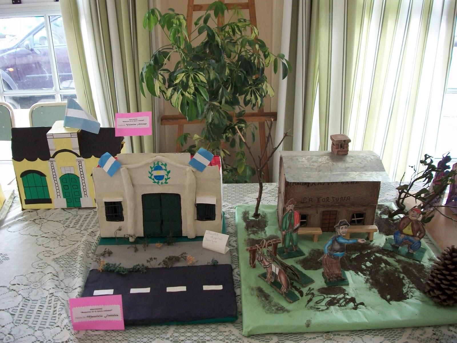 Biblioteca popular sarmiento de ca uelas muestra de for Maquetas de jardines